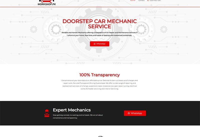 workshop-home-services-lahore-website